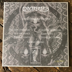 CONCATENATUS Unfathomable Depths , BLACK [VINYL 12