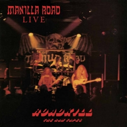 MANILLA ROAD Roadkill - The Raw Tapes BLACK [VINYL 12'']