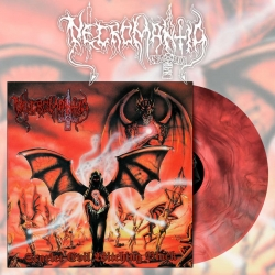"NECROMANTIA Scarlet Evil Witching Black LP RED MARBLE [VINYL 12""]"