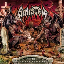 "SINISTER The silent howling BLACK [VINYL 12""]"